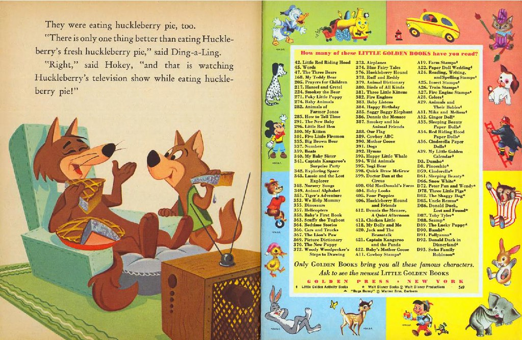 Hokey Wolf & Ding-a-Ling Featuring Huckleberry Hound014
