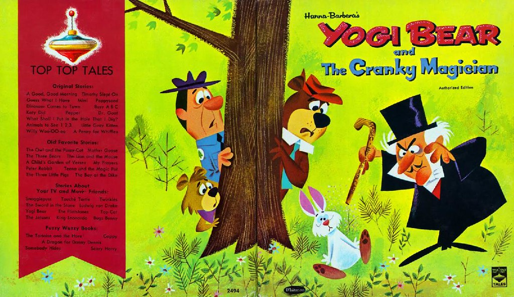 Yogi Bear & the Cranky Magician001