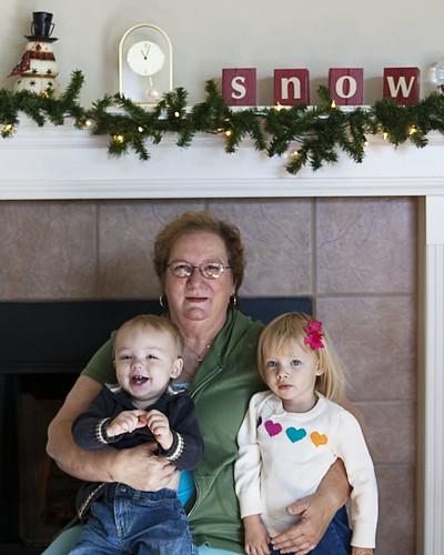 Mema and Grandbabies