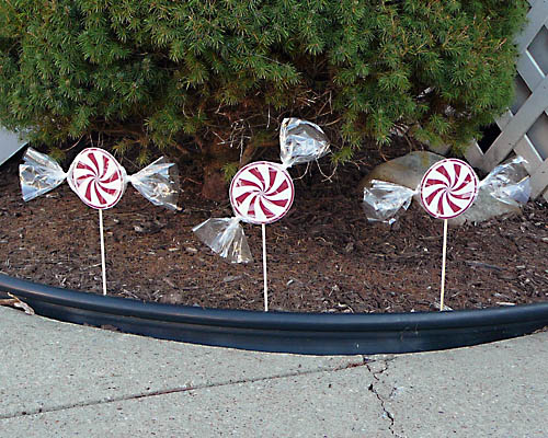 peppermint candy decorations
