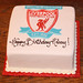 Liverpool Soccer Cake