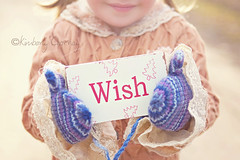 (Kimberly Chorney) Tags: sunlight smile sweet naturallight littlegirl mittens vintagedress wishsign