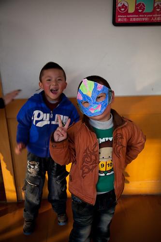 Halloween at Weinan Aston 2010