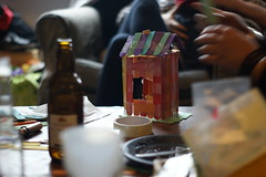 Dollhouse Construction (pepemczolz) Tags: wood party house crafts sony homemade alpha dollhouse a350