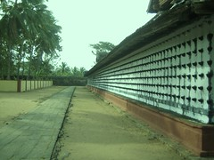 805. Oil lamps on a temple wall (profmpc) Tags: temple perspective kerala palakkad oillamps randumoorthy twodeitytemple