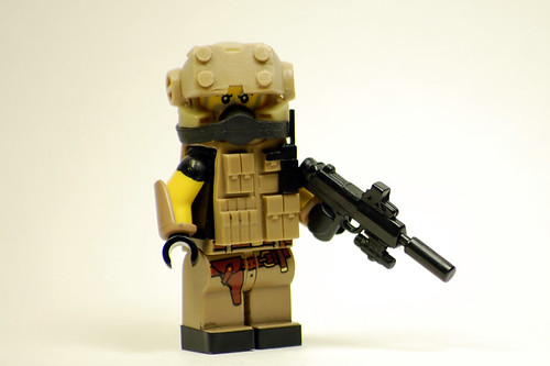 Custom minifig Private Military Contractor MK2