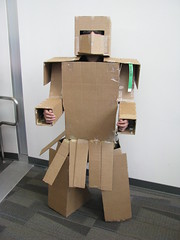 Cardboard Gundum (Vegas PG) Tags: cosplay cardboard ohayocon 2011 gundum vegaspgcosplay