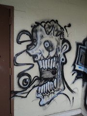(Pastor Jim Jones) Tags: monster painting graffiti character creature sick smak esd