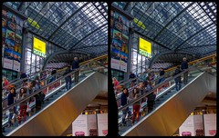 Hauptbahnhof, Berlin 3-D / Stereoscopy / CrossView / HDR / Raw (Stereotron) Tags: berlin spreeathen mitte metropole hauptstadt capital metropolis brandenburg city urban architecture contemporary modern public trainstation europe germany crosseye crosseyed crossview xview cross eye pair freeview sidebyside sbs kreuzblick 3d 3dphoto 3dstereo 3rddimension spatial stereo stereo3d stereophoto stereophotography stereoscopic stereoscopy stereotron threedimensional stereoview stereophotomaker stereophotograph 3dpicture 3dglasses 3dimage twin canon eos 550d yongnuo radio transmitter remote control synchron kitlens 1855mm tonemapping hdr hdri raw