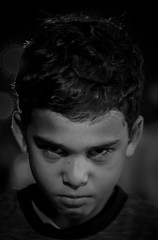 The Angry Child (D Rom) Tags: canon rebel t6i eos 750d 50mm 14 usm fixed prime lens face portrait portraiture photography people eye eyes shadow black white blackandwhite nephew family angry child awesome cool monochrome