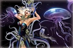PRECIOUS OCTOPUS (irrISIStible shop) Tags: irrisistible shop precious octopus sea undersea dress mesh outfit clothes maitreya belleza slink hourglass fantasy tableau vivant ikon eyes