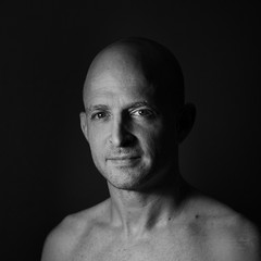 Portrait of man in black and white 2 (alexander.dischoe) Tags: portrait blackandwhite bw sw schwarzweiss gesicht face nikon d800 nikond800 nikkor2470mm studio mann charakter