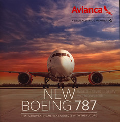 Avianca, New Boeing 787;  2015_1 (World Travel Library - The Collection) Tags: avianca boeing b787 b7878 dreamliner 2015 plane aircraft flugzeug colors colours airlines brochure aviation world travel library center worldtravellib papers prospekt catalogue katalog flug air airtransport transport holidays tourism trip vacation photos photo photography pictures images collectibles collectors collection sammlung recueil collezione assortimento colección ads online gallery galeria magazine documents dokument broschyr esite catálogo folheto folleto брошюра broşür