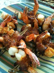 4831325949 178ca08b56 m Spicey Grilled Shrimp Skewers