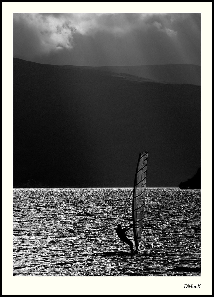 Wind Surfing on Loch Lomond