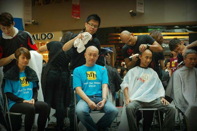 Hair For Hope 2010 (courtesy of Enrick)