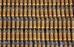 30mm Cannon Ammunition (Conan500) Tags: sky shells modern flying apache display aircraft jets flight historic helicopter planes bullets ammo raf aeroplanes warfare 30mm ammuntion