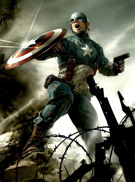 Captain America: The First Avenger 2011 Movie San Diego Comic-Con Marvel Unveil