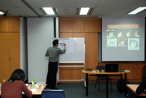 Caricature Workshop for AIA Tampines - Day 3 - 7