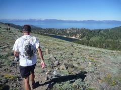 Tahoe lake view pic