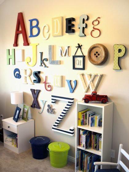 Ohdeedoh Alphabet Wall