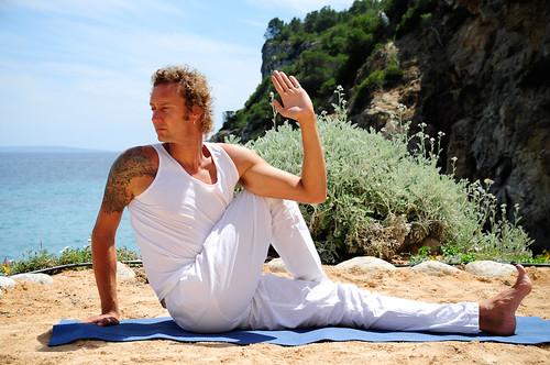 James Giuseppi, Ibiza Yoga instructor