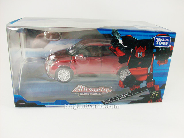 Transformers Cliffjumper Alternity - caja
