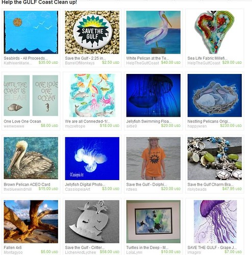 Gulf Coast Etsy Treasury