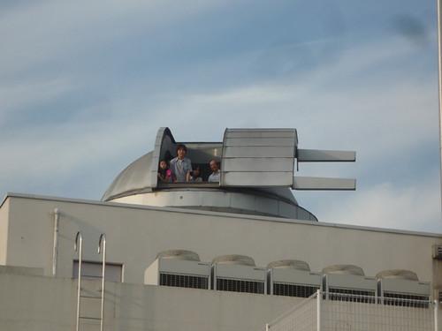母校の天文台