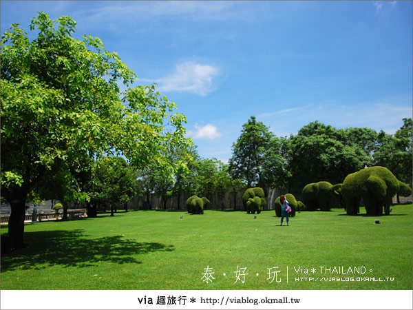 【泰國旅遊】大城之旅|泰皇的渡假聖堂~芭茵夏宮30