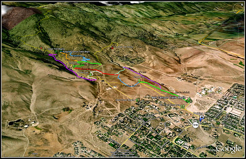 Ash Canyon Trail Map