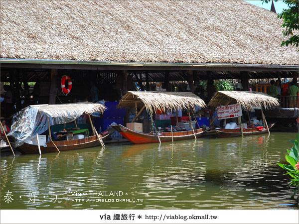 【泰國小吃】泰好吃~大城水上市場美味小吃呷通海!9