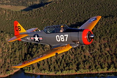 North American AT-6 Texan (Champion Air Photos) Tags: warbird texan at6 t6 airtoair snj northamerican