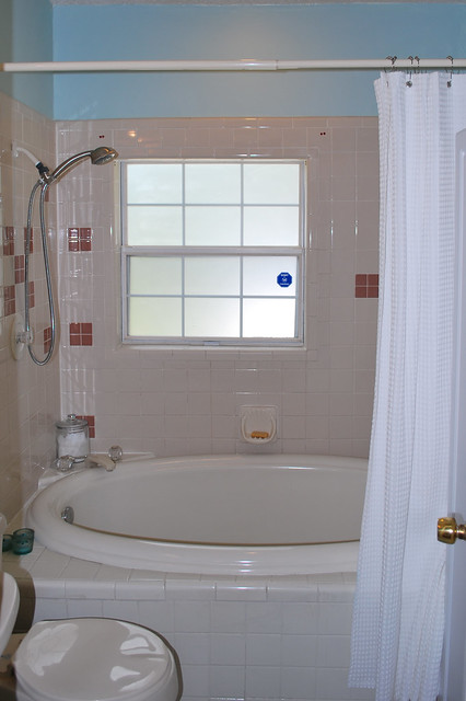 Painted Guest Bath