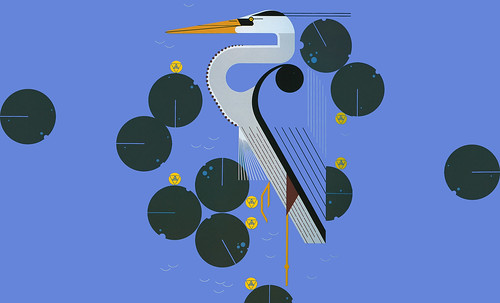 "Charley Harper • <a style=""font-size:0.8em;"" href=""https://www.flickr.com/photos/30735181@N00/4848321946/"" target=""_blank"">View on Flickr</a>"