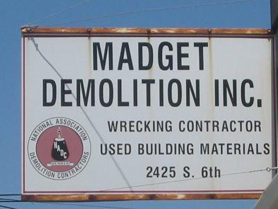 Madget Demolition & Salvage Yard