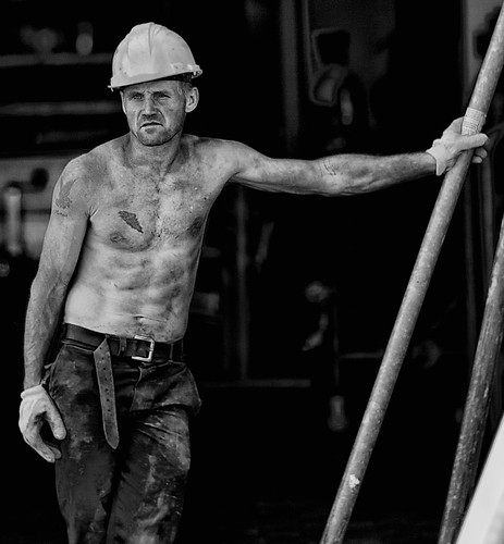 "Construction Worker I am reposting this old picture since it has now become the icon of a new group on Flickr:  <a href=""http://www.flickr.com/groups/the_21st_century_in_bw/"">The 21st Century in B&W</a>.  Group Admins are <a href=""http://www.flickr.com/photos/simeon_barkas/"">Akbar Simonse</a>, <a href=""http://www.flickr.com/photos/jfrenzelphotos/"">Phrenzel</a> and myself.  This group is about telling a visual history of people in the 21st century. Its looking specifically for the small stories that dont end up in the official history books, but illustrate the history of daily life. Only high quality B&W will be accepted. Feel free to  <a href=""http://www.flickr.com/groups/the_21st_century_in_bw/"">visit</a>, post and/or become a member."