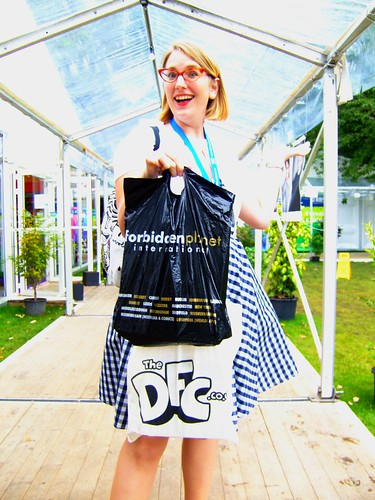 Edinburgh International Book Festival 2010 - Sarah McIntyre 02