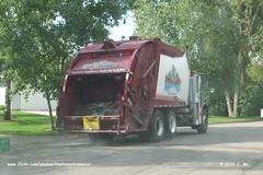 Higland Sanitation Garbage Truck (TheTransitCamera) Tags: trash truck garbage highland newport recycle mn sanitation mcneilus