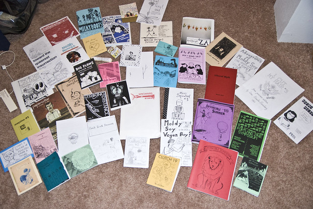 haul from the portland zine symposium
