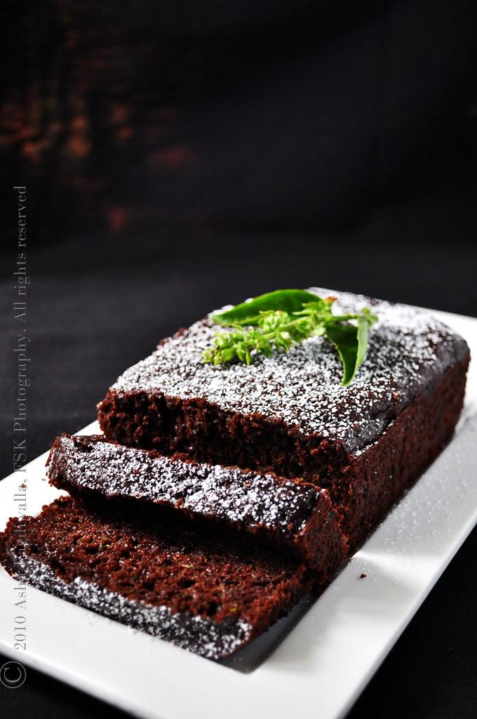 Zucchini (basil) Chocolate loaf