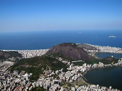 Vista Sul Corcovado (Victor_Brasil) Tags: city sea cidade brazil urban color rio brasil riodejaneiro canon landscape geotagged photography mar interestingness amazing flickr paisagem explore urbano panorâmica canonsx20is