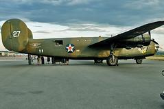 Consolidated Vultee RLB-30/B-24A (skyhawkpc) Tags: 2010coloradosportinternationalairshow rockymountainmetropolitanairport kbjc bjc jeffco rlb30 nikon consolidatedvultee d90 commemorativeairforce n24927 ol927 cn18 redwhiteloud b24a liberator warbird aircraft airplane aviation heavy bomber