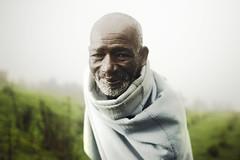 The Elder (Jeremy Snell) Tags: africa mist green grass beard robe farm african 28mm mount elder ethiopia 18 dreamcatcher entoto
