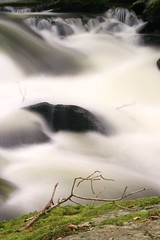 Fast Flowing River (scouserdaz photography) Tags: nature water canon river flowing exmoor eastlynrivernationaltrust scouserdaz