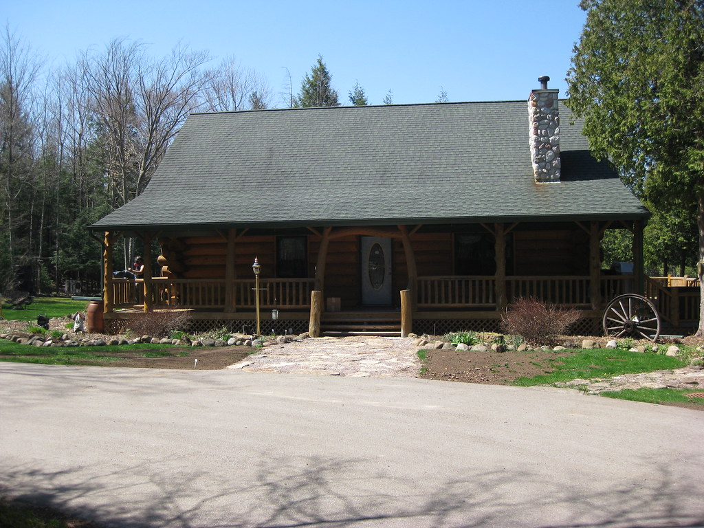 Log Home Restoration May 2009