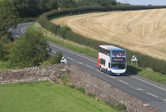 Crosby Hills. Flash & Young! (Richie B.) Tags: west coast 400 cumbria villa 300 alexander connect scania crosby enviro 15684 n230ud px60bej