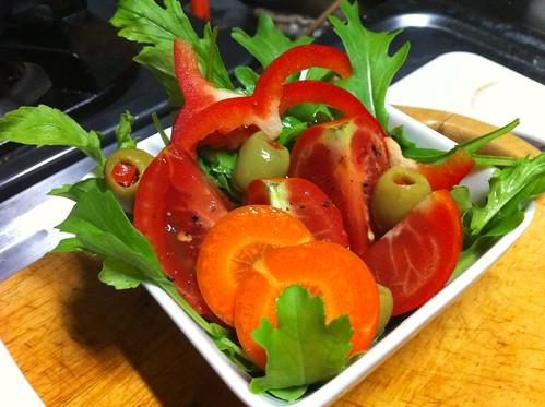 Infantile Rocket Salad
