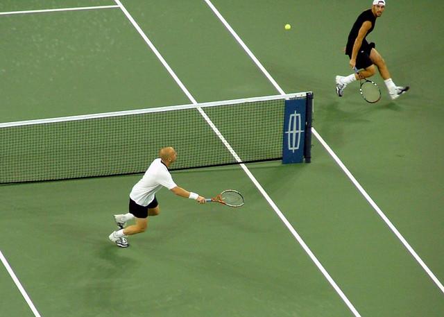 2004 US Open: Ginepri - Agassi