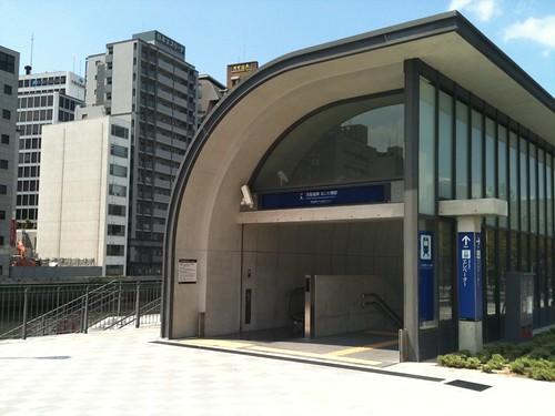 art area b1, naniwabashi sta.